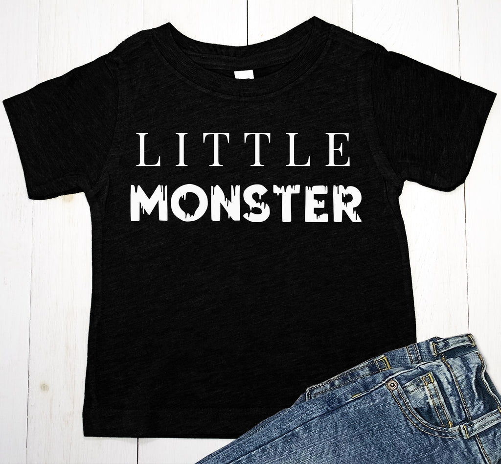 Little Monster Halloween Baby Boy or Toddler T-Shirt
