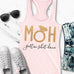 MOH Maid of Honor Gettin $hit Done Gold Tank Top - Pick Color