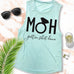 MOH Maid of Honor Gettin $hit Done Muscle Tank Top - Pick Color