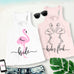 BRIDE & BRIDE'S FLOCK FLOWY FLAMINGO WEDDING TANK TOPS