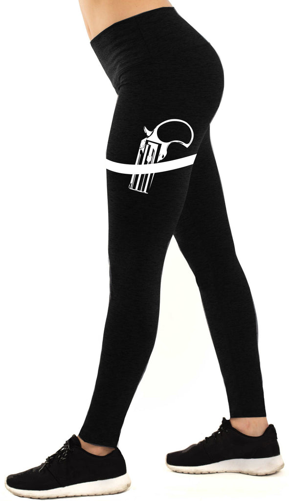 Gun Show Workout Leggings Black