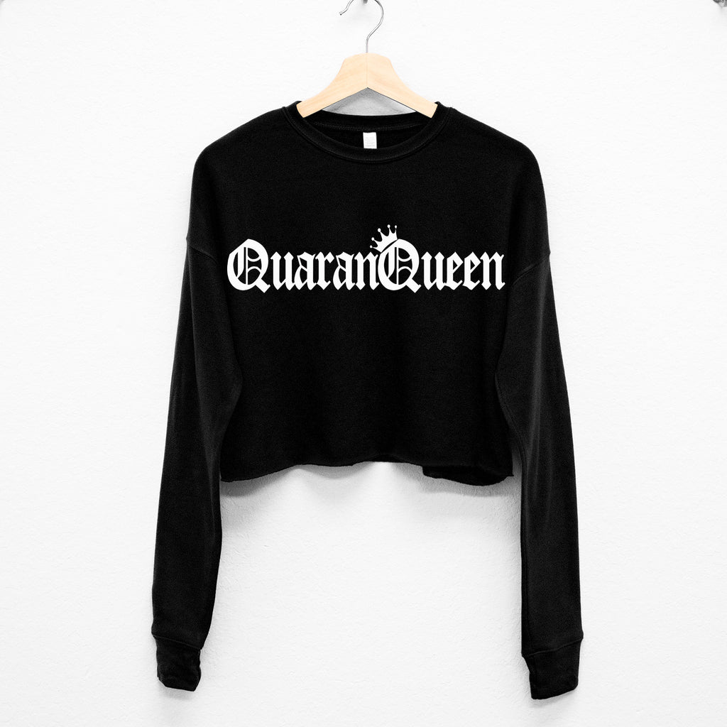 QuaranQueen Cropped Sweater