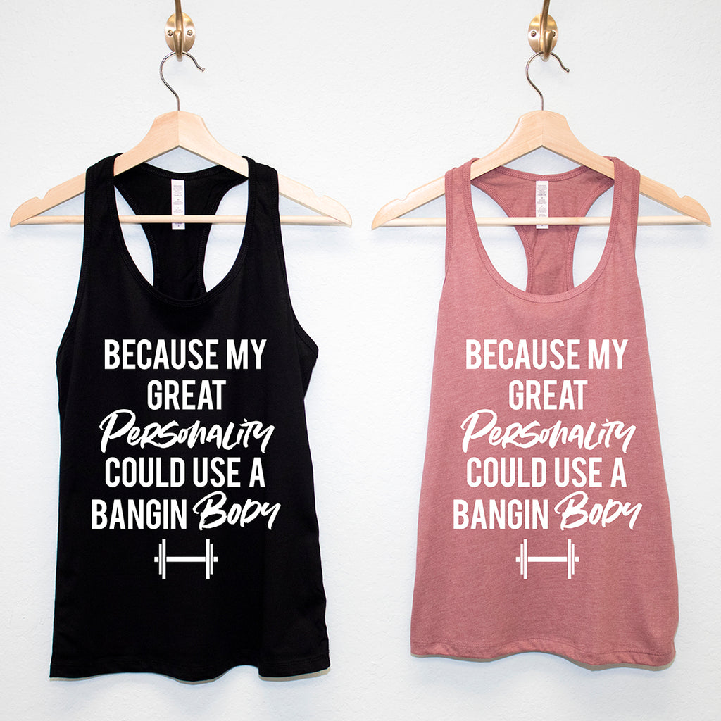 BANGIN Racerback Tank Top - Pick Color