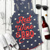 Red, Wine, and BBQ Blue Stars Tank Top