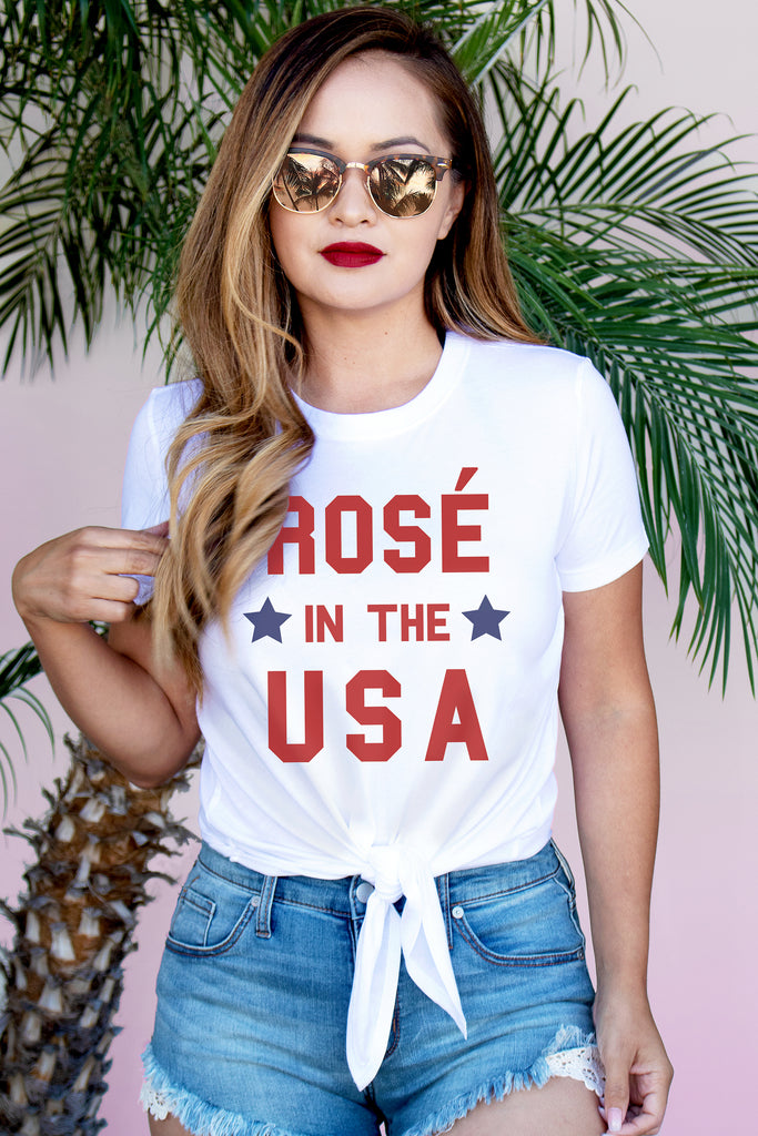 Rosé in USA Crop - Pick Style