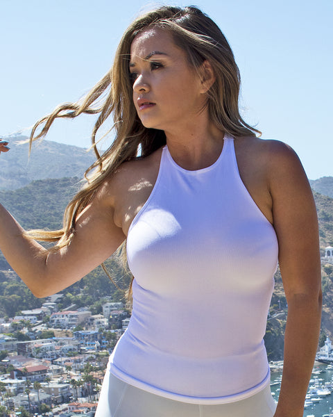 Essential White Seamless Tank