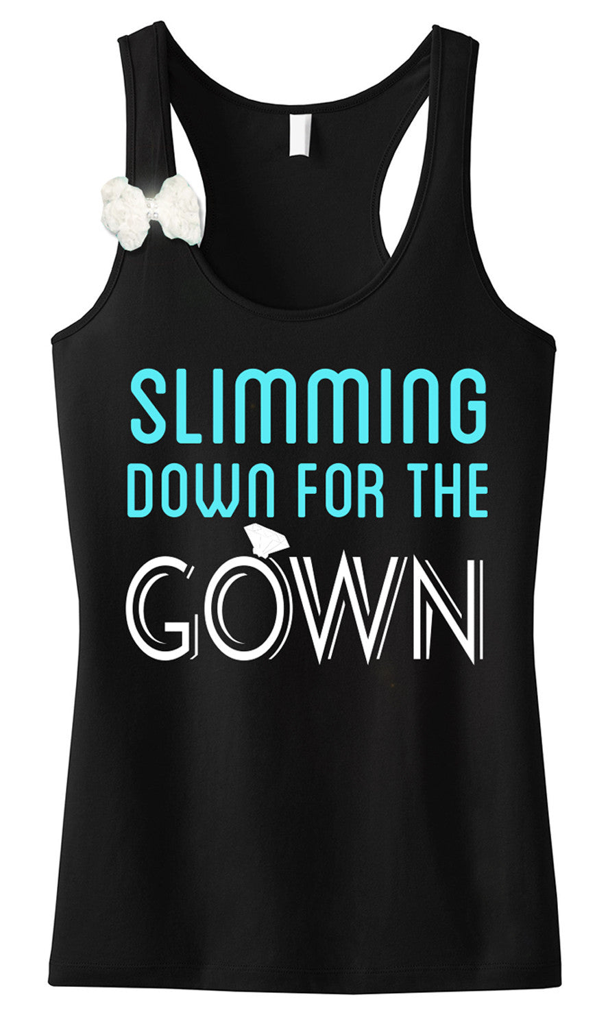 Slimming Down for the Gown Tank Top