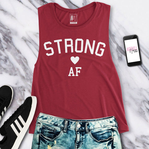 STRONG AF Muscle Tank Top - Pick Color