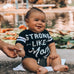 STRONG LIKE MOM Baby Boy Jumpsuit or Toddler Shirt