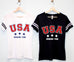 USA DRINKING TEAM Women's V-Neck Shirt