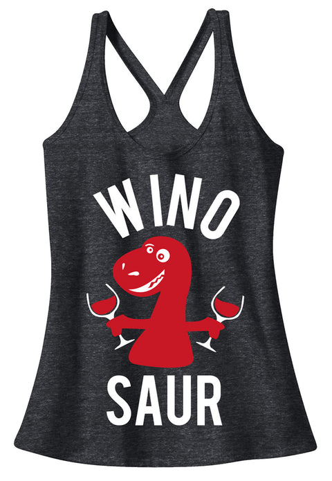 WINO SAUR T-Back Tank Top - Pick Color