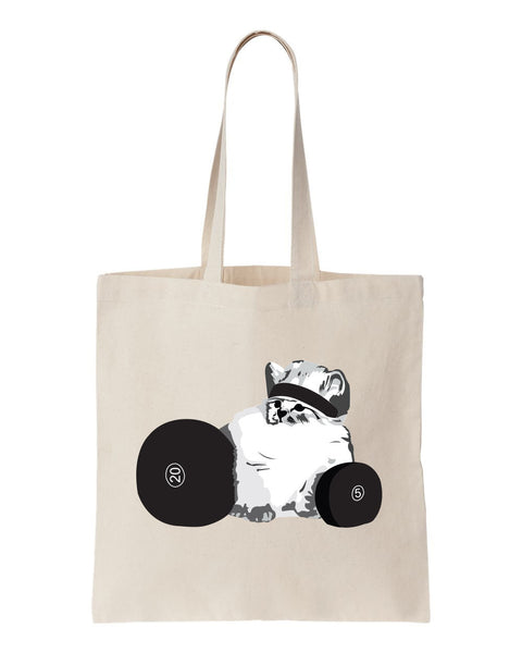 CHECK MEOWT Workout Tote - Gym/Grocery Bag