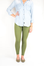 Load image into Gallery viewer, Comfort Legging, Olive Green