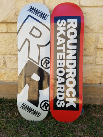 Round Rock Skateboards Decks