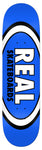 Real Classic Oval Skateboard Deck 8.5 royal blue