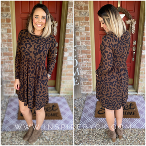 Lanae Leopard Dress