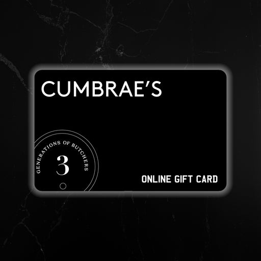 Cumbrae's Gift Card