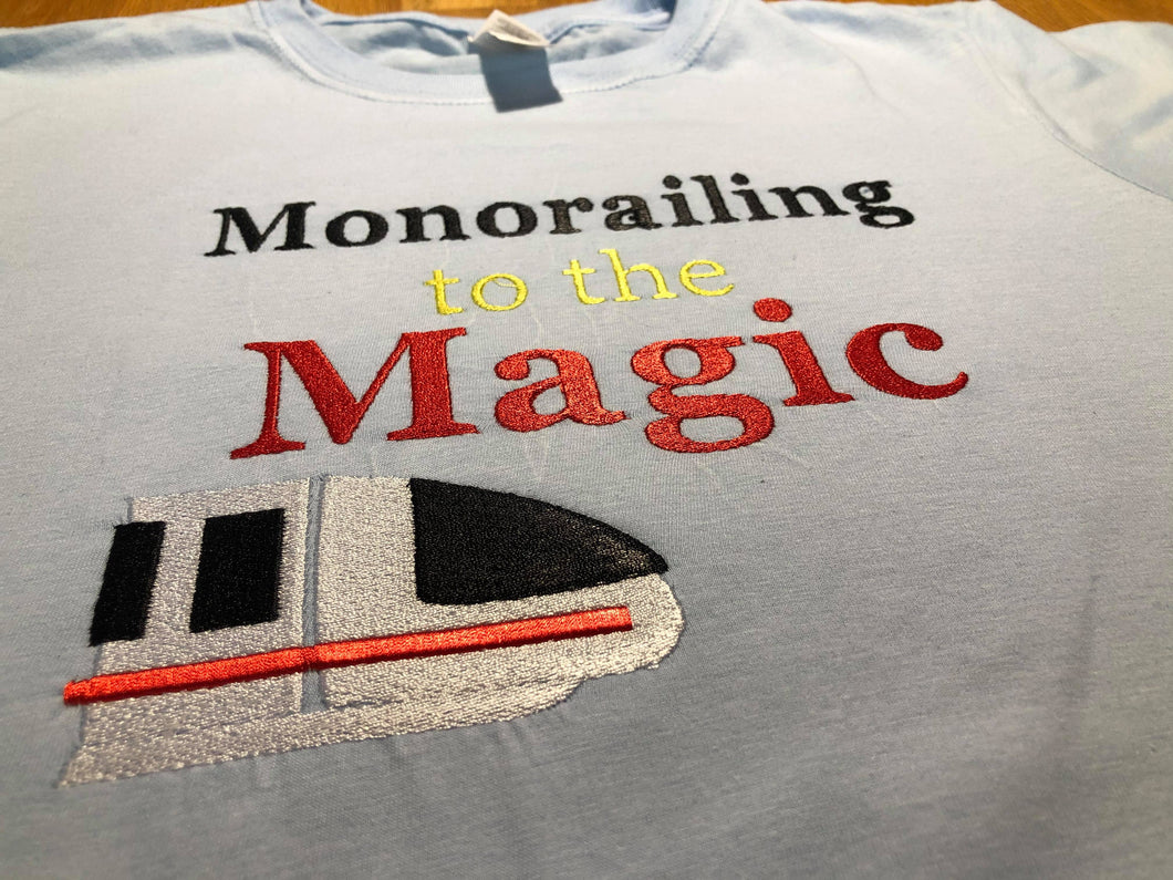 Monorail to the Magic sweatshirt