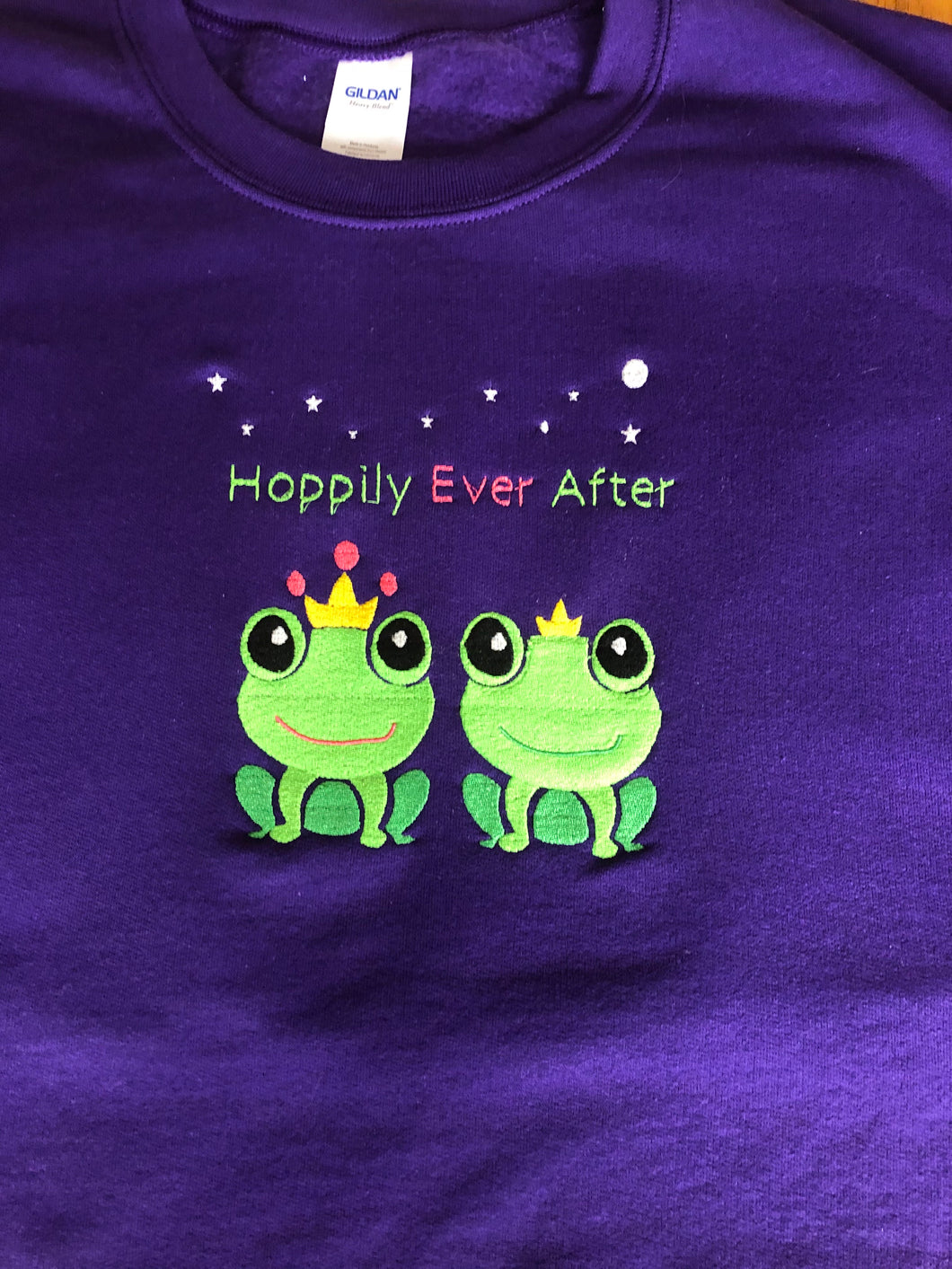 Hoppily Ever After t-shirt