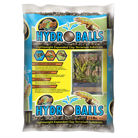 Zoo Med HydroBalls Clay Terrarium Substrate - 2.5 lbs