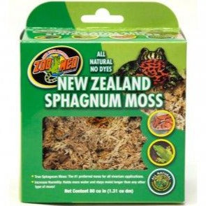 Zoo Med New Zeland Sphangnum Moss - 80 Cubic Inches