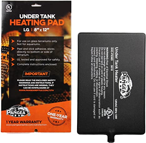 "Pangea Under Tank Heating Pad LG 8""x12"""