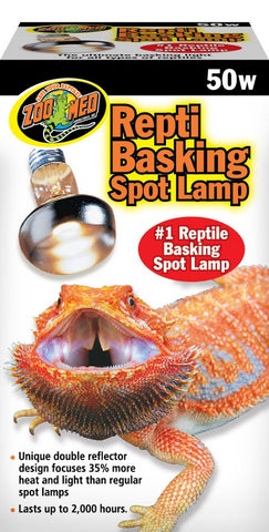Zoo Med Repti Basking Spot Lamp Replacement Bulb - 50 Watts