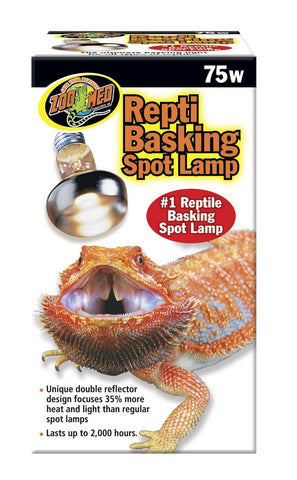 Zoo Med Repti Basking Spot Lamp Replacement Bulb - 75 Watts