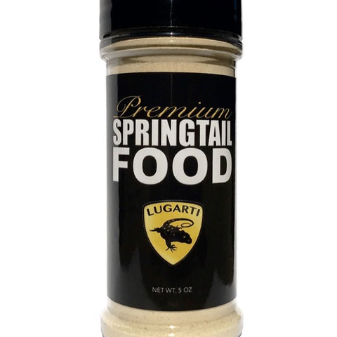 Lugarti Premium Springtail Food - 5 oz