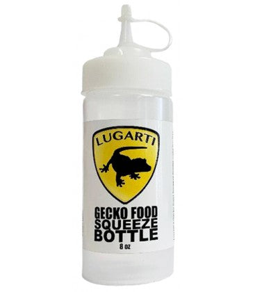 Lugarti Gecko Food Squeeze Bottle