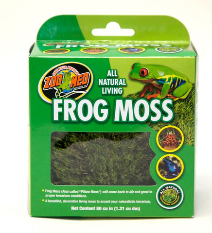 Zoo Med All Natural Living Frog Moss - 80 Cubic Inches