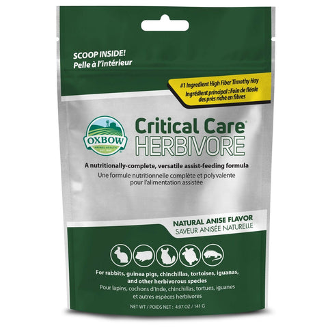 Oxbow Critical Care Pet Supplement Herbivore 141gm