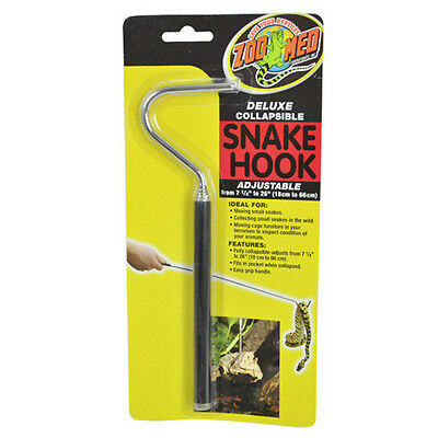 "Zoo Med Deluxe Adjustable Snake Hook - 7.25""-26"" Long"