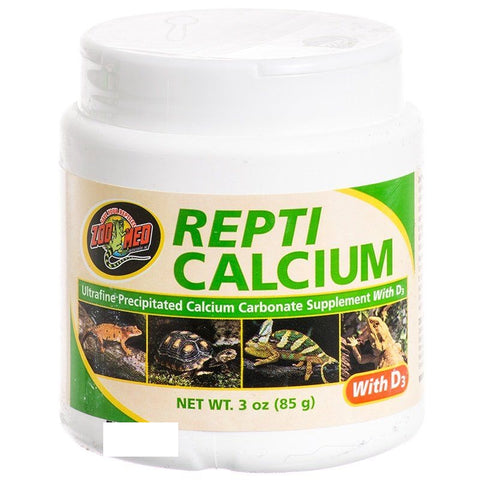 Zoo Med Repti Calcium With D3 - 3 oz