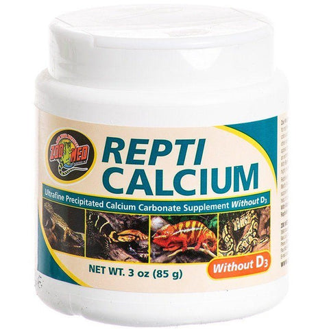 Zoo Med Repti Calcium Without D3 - 3 oz