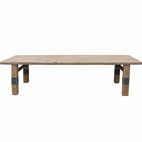 Elm Coffee Table/Bench