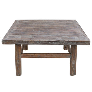 "Antique Coffee Table, 35""L x 33""W x 18""H"
