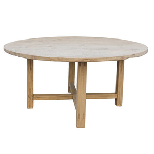 "Reedition 60"" Elm Dining Table"