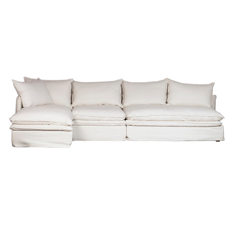 Avesta L-Shape Sofa W/ Left Chaise & Performance Fabric