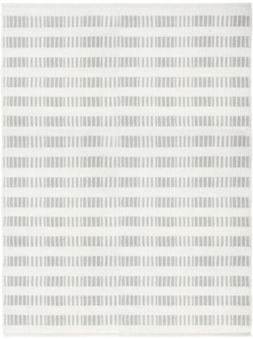 Brooke Handwoven Rug, Light Grey