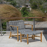 Catherine Outdoor Club Chair-Ash