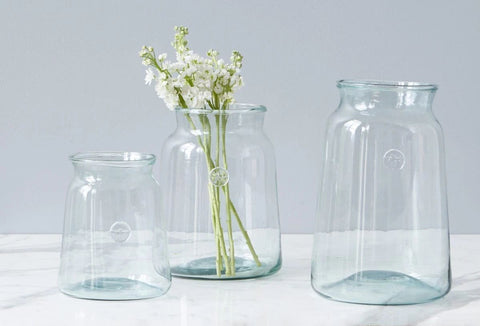 French Mason Jar, 3 Sizes