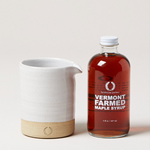 Vermont Maple Syrup & Silo Pitcher Gift Set