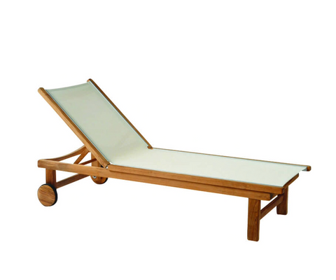 St. Tropez Outdoor Chaise, Sand