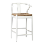 Moya Counter Stool, White
