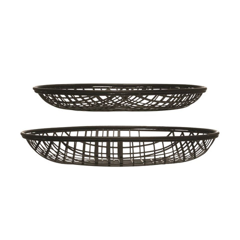 Decorative Metal Wire Baskets, 2 sizes