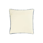 Knit Cotton Blend Pillow, Blue