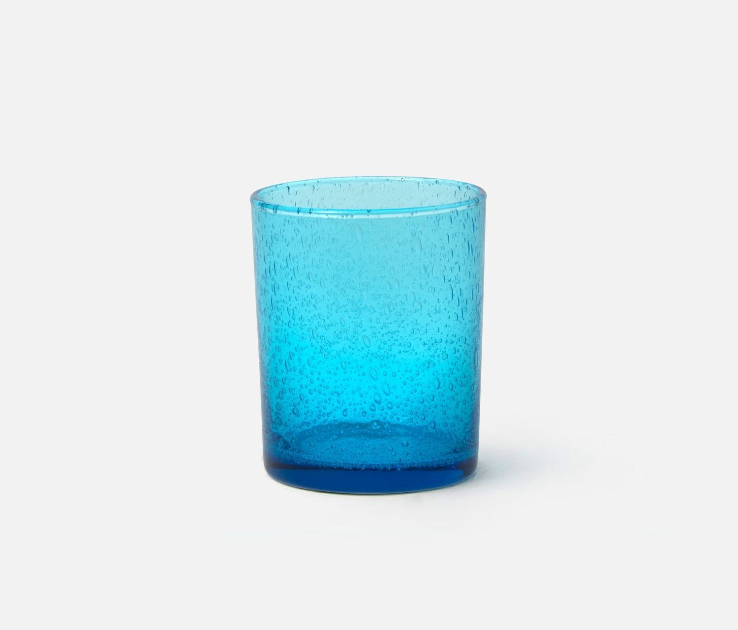 Azul, Sky Blue Tumbler Glass, Hand Blown