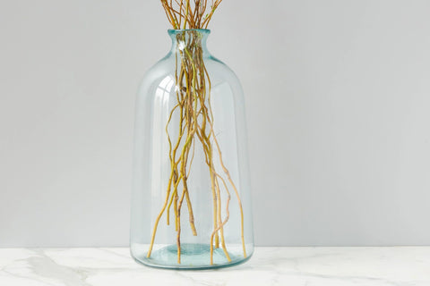 Artisanal Glass Vase, Large