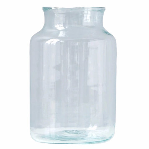 Clear Mason Jar, 3 Sizes